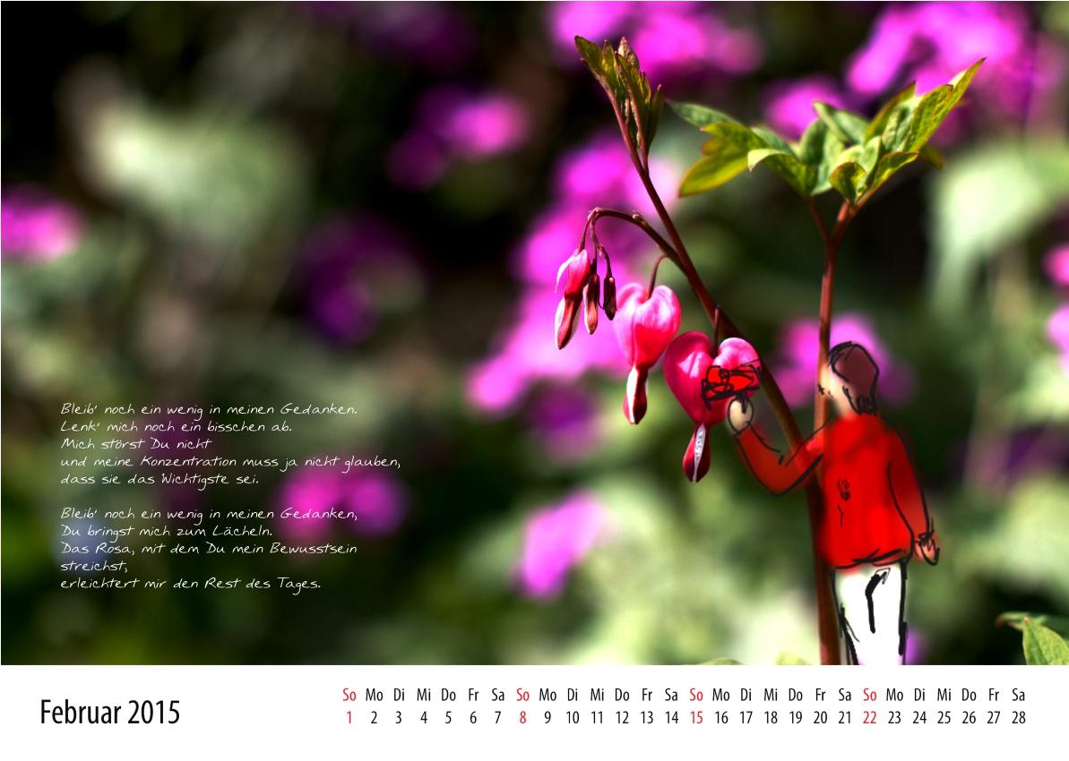Kalenderblatt Februar